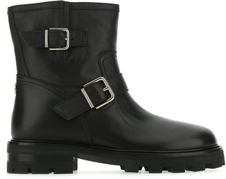 Jimmy Choo Youth II Biker Boots