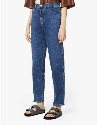 J Brand Mia tapered high-rise jeans