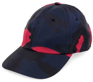 Valentino Garavani Camouflage Baseball Hat