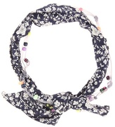 Maison Michel Calie Embellished Printed Hairband