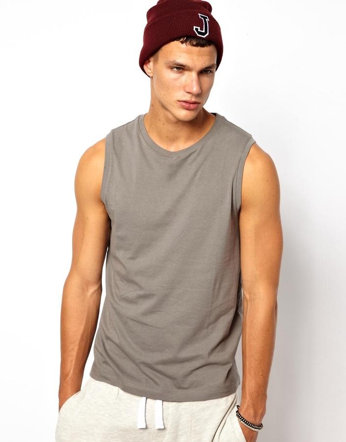 Asos Sleeveless T-Shirt