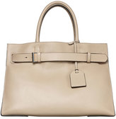 Reed Krakoff RK40L Large Belted Leather Tote Bag, Tan