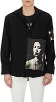 Enfants Riches Deprimes Men's Patch-Appliquéd Wool Oversized Shirt