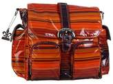 Kalencom Matte Coated Double Duty Diaper Bag, Sunset by