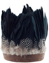 N. ROCK 'N ROSE Willow Oversize Feather Headdress