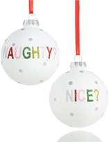 Holiday Lane Naughty or Nice Ornament