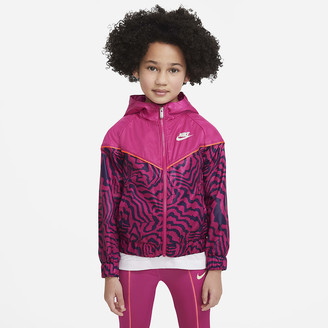 Nike Little Kids' Full-Zip Jacket Sportswear Windrunner