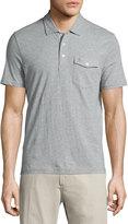 Original Penguin Slim-Fit Cotton Polo Shirt, Rain Heather