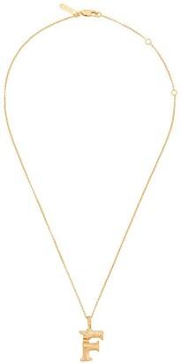 Chloé letter F pendant necklace