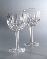Lismore Crystal Wine Glass