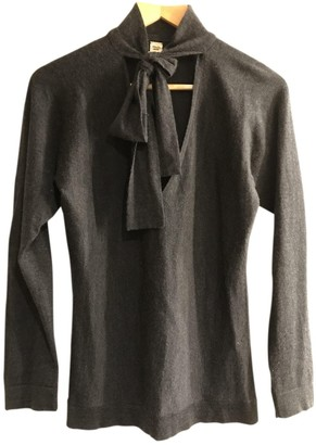 Hermes Anthracite Cashmere Knitwear for Women