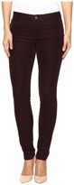 J Brand Mid-Rise Skinny in Blackberry