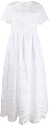 RED Valentino Broderie Anglaise Long Dress