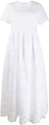RED Valentino Perforated Midi Dress