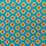 Cotton Tale Designs Gypsy Flower Fabric, Blue Background, Small