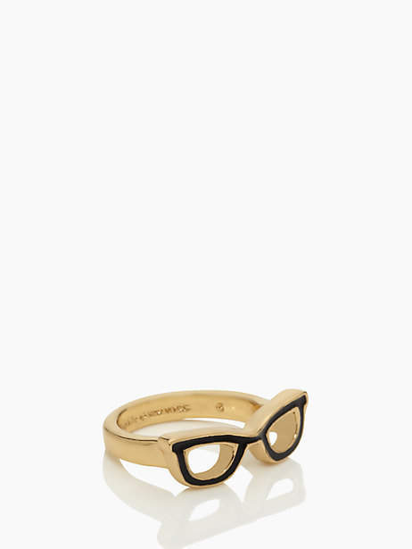 Kate Spade Lookout glasses ring