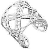 Canyon Women 925 Sterling Silver Silver Zircon Rings