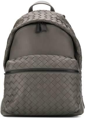 Bottega Veneta Intrecciato detailing backpack