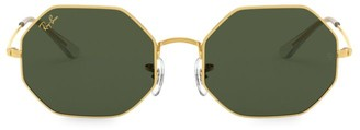 Ray-Ban RB1972 54MM Octagonal Metal Sunglasses