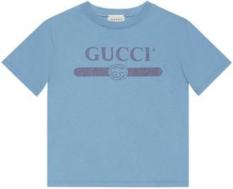 Gucci Children's logo print T-shirt