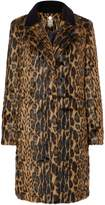 Biba Leopard and velvet coat
