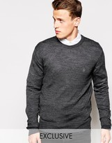 French Connection Crew Jumper - Grey
