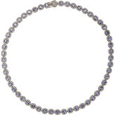 Munnu Women's Mixed-Gemstone Oval-Link Necklace