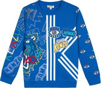 Kenzo Multi Icon Graphic Sweatshirt
