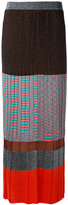Missoni pleated knit skirt - women - Silk/Polyester/Spandex/Elastane/Viscose - 38