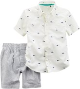 """Carter's Little Boys' Toddler """"Cool Shades"""" 2-Piece Outfit"""