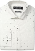 Nick Graham Men's Mustache Print Cotton Dress Shirt