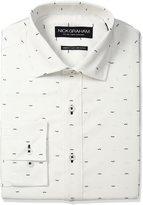 Nick Graham Men's Mustache Print Cotton Dress Shirt