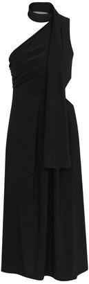 Kith&Kin Black Geometric Opening Waist Dress