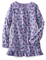 Classic Girls Plus Pattern Ruffle Hem Woven Leggings Top-Washed Iris Butterflies