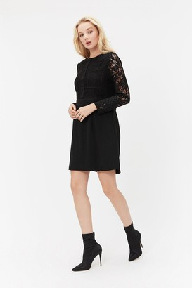 Coast Lace Patch Pocket Dress