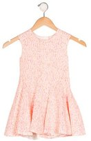 Christian Dior Girls' Textured A-Line Dress