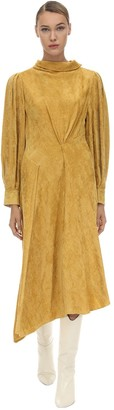 Isabel Marant Fergus Viscose Velvet Dress