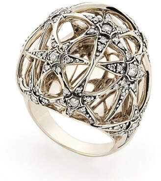H.Stern Noble Gold And Diamond Copernicus Ring