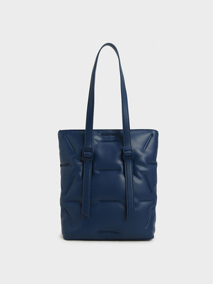 Charles & Keith Puffer Double Handle Tote Bag