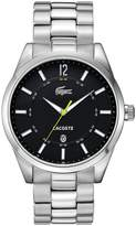 Lacoste Men's 2010578 Silver Stainless-Steel Analog Quartz Watch with Dial