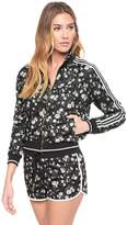 Juicy Couture Tricot Fullerton Daisy Stripe Jacket