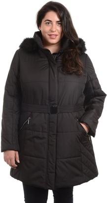 Fleet Street Women's Hooded Puffer Heavyweight Jacket