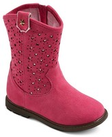 Just Buds Footwear Toddler Girls' Just Buds Western Star Comfort Western Boots - Pink