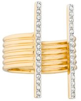Rachel Zoe Crystal Bar Ring