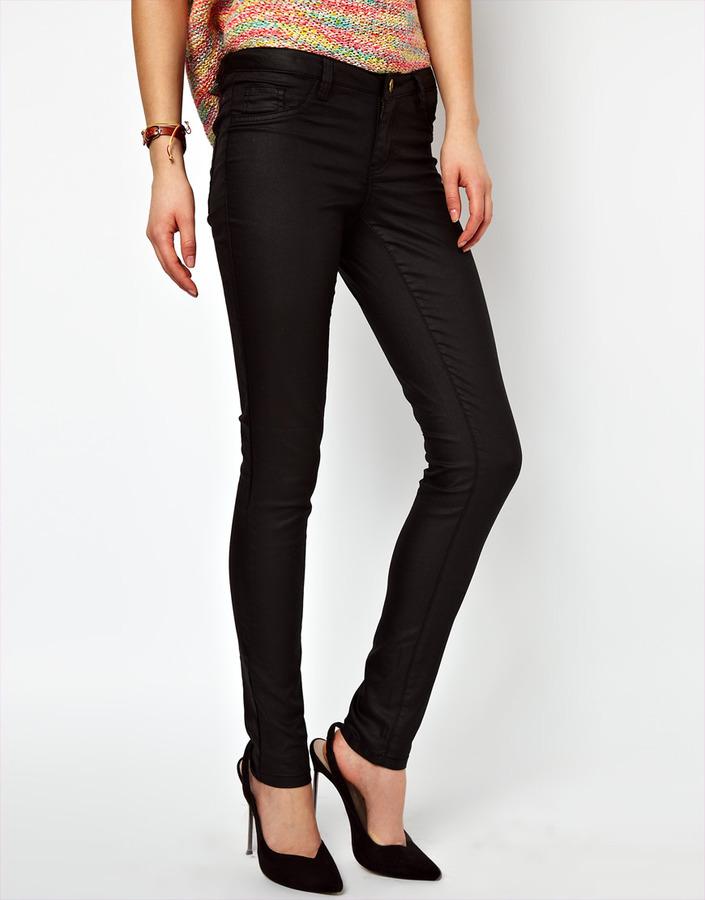 Vila Coated 5 Pocket Jean