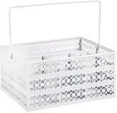 Home Essentials and Beyond Lace Flatware Caddy