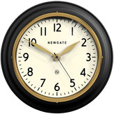Newgate Clocks - The Cookhouse II Wall Clock - Matt Black