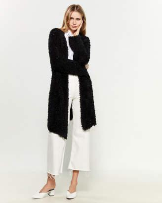 Tandem Long Sleeve Fuzzy Cardigan