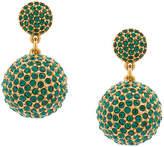 Oscar de la Renta Pavé Dome earrings