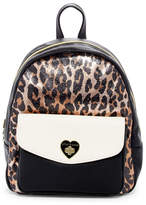 Betsey Johnson Turn Lock Printed Backpack